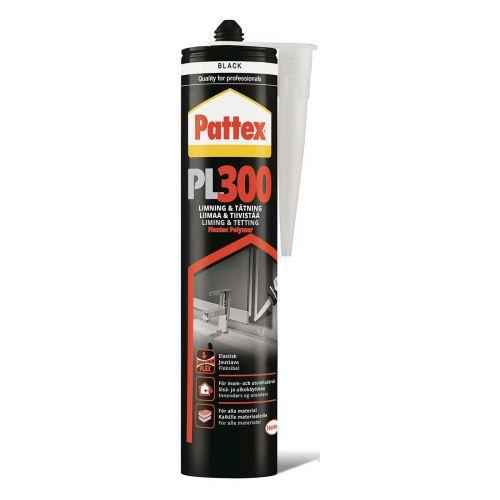 PATTEX LIIMATIIVISTEMASSA PL300 300ML MUSTA 300 ML