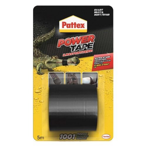 PATTEX POWER TAPE MUSTA 5M