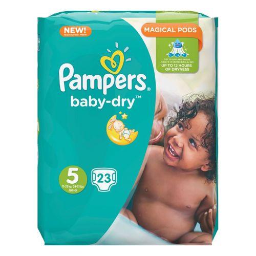 Pampers Baby Dry S5 11-23kg normaalipakkaus 23kpl