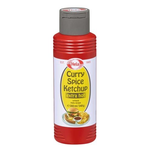 HELA CURRY KETCHUP EXTRA HOT  300 ML