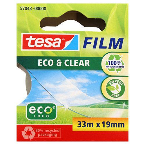 TESA TOIMISTOTEIPPI ECO & CLEAR 33MX19MM
