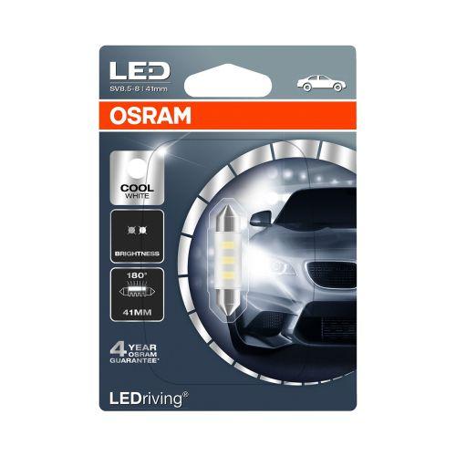 OSRAM LED 12V C5W COOL WHITE 6000 K K 41MM 1 KPL BLISTER