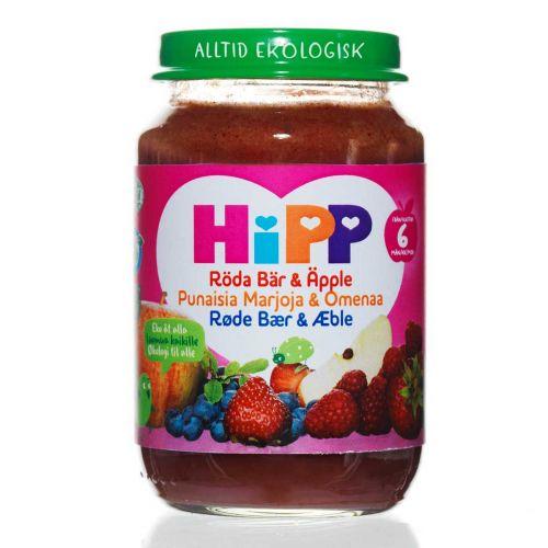 HIPP HIPP PUNAISIA MARJOJA&OMENAA 6KK 190 G
