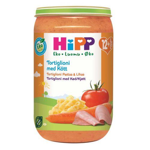 HIPP HIPP TORTIGLONI PASTAA&LIHAA12KK LUOMU 250 G