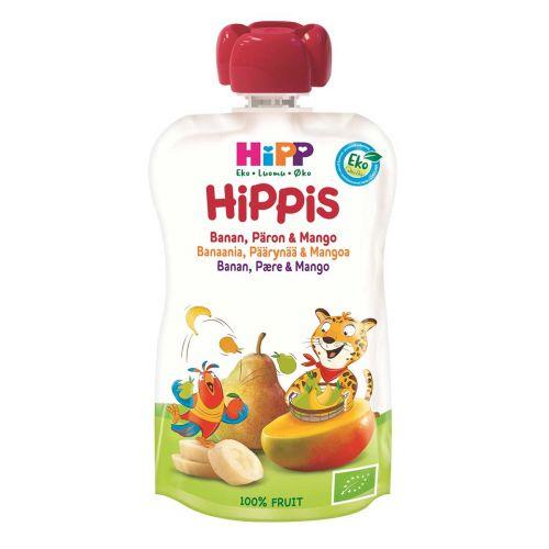 HIPP HIPPIS 4KK BANAANI-PÄÄRYNÄ-MANGO LUOMU 100 G