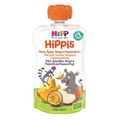 HIPP HIPPIS 6KK PÄÄRYNÄ-OMENA-MANGO-PASSIONHEDELMÄ 100g