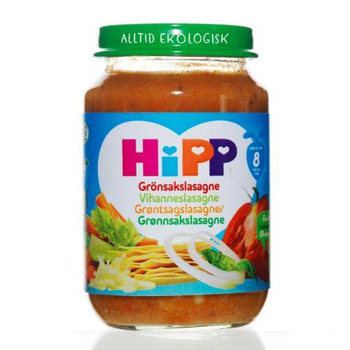 HIPP HIPP VIHANNESLASAGNE 8KK LUOMU 190 G