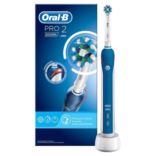ORAL-B PRO 2000N CROSSACTION SÄHKÖHAMMASHARJA