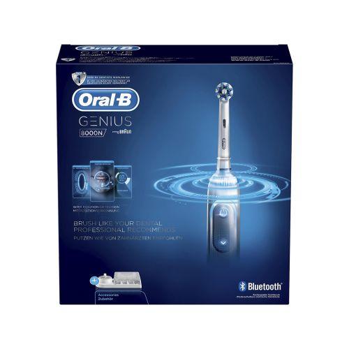 Oral-B Genius 8000N sähköhammasharja hopea