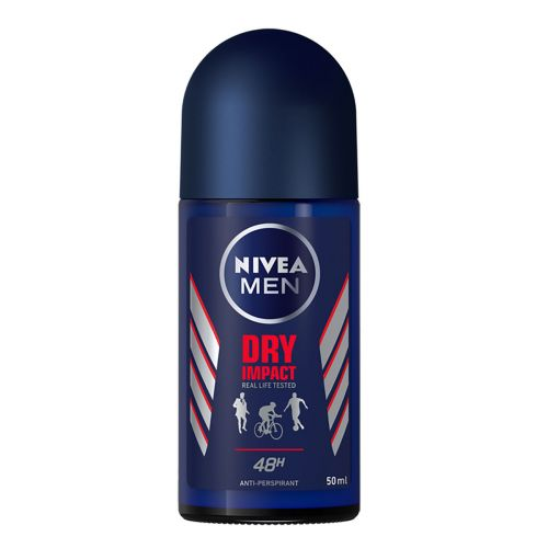 NIVEA DEO ROLL ON FOR MEN DRY IMPACT 50 ML