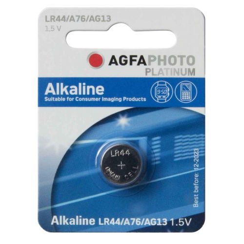 AGFAPHOTO NAPPIPARISTO LR44 1-PACK BLISTER