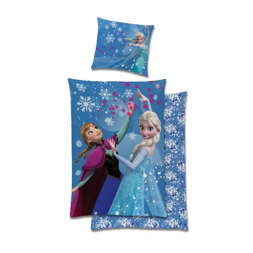 Pussilakanasetti Frozen 150x210 + 50x60cm