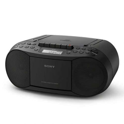 SONY CFD-S70 KASETTI JA CD-SOITIN FM-RADIOLLA, MUSTA