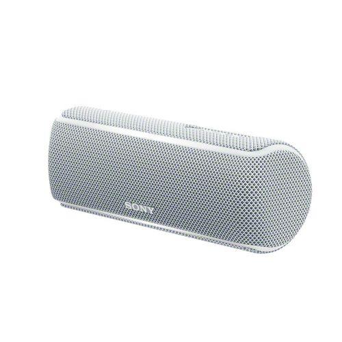 SONY SRS-XB21 Bluetooth/NFC kaiutin, valkoinen