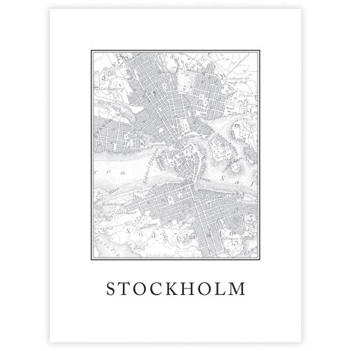 JULISTE STOCKHOLM 30X40