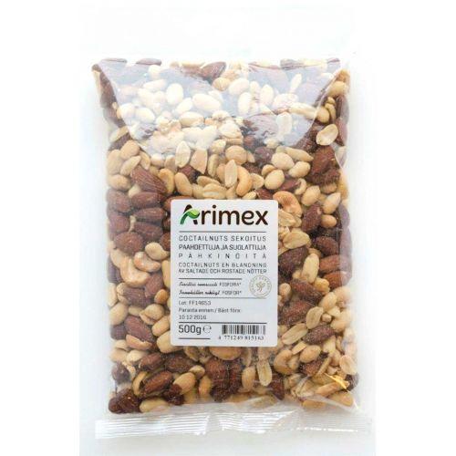 FINNSWEET COCTAIL NUTS 500 G