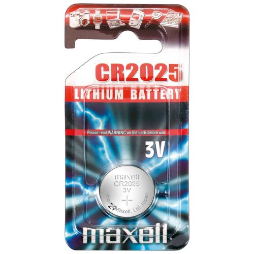 MAXELL NAPPIPARISTO CR 2025  1-PACK