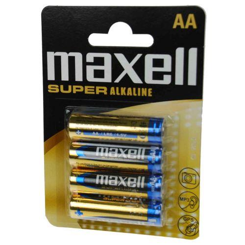 MAXELL LR06 SUPER-ALKALIPARISTO 4-PACK