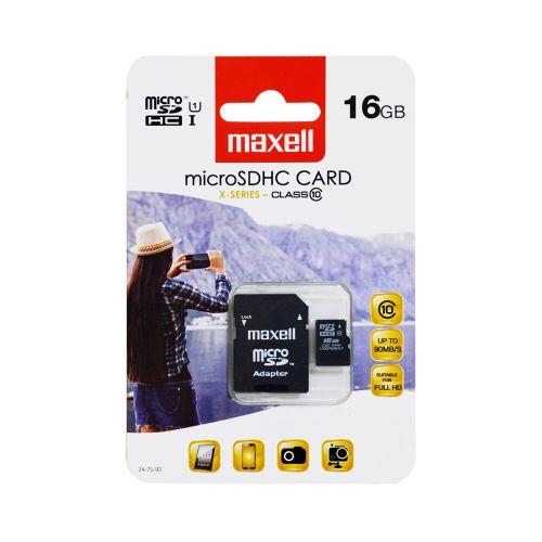 MAXELL MAXELL MICRO SD HC 16GB CLASS 10 + ADAPTERI