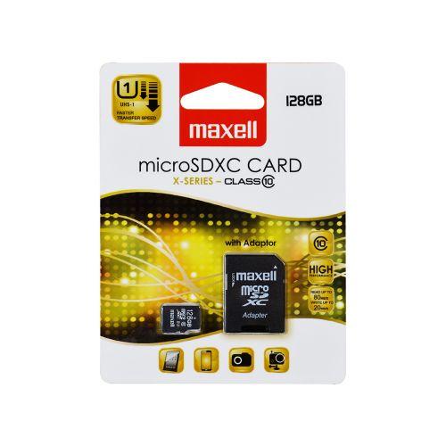 MAXELL MAXELL MICRO SD XC 128GB CLASS 10 + ADAPTERI