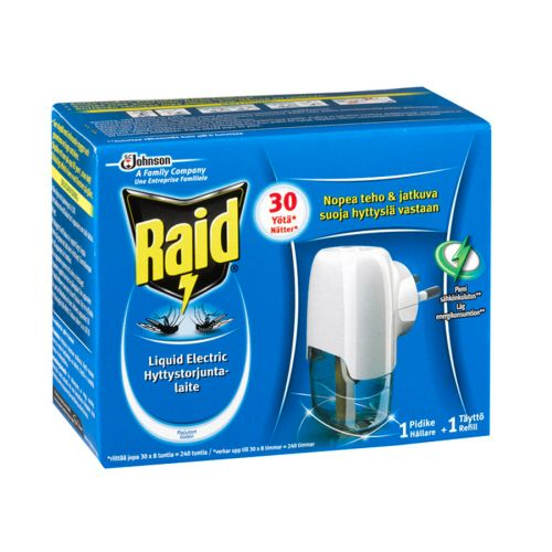 Raid Liquid Electric hyttystorjuntalaite