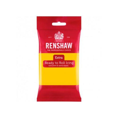 Renshaw Extra sokerimassa 250g, keltainen
