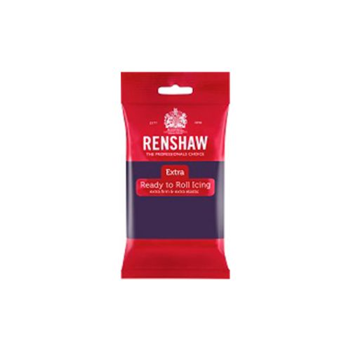 Renshaw Extra sokerimassa 250g, tumma violetti