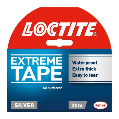 LOCTITE SILVER REPAIR TAPE  TEIPPI 48MMX30M HARMAA