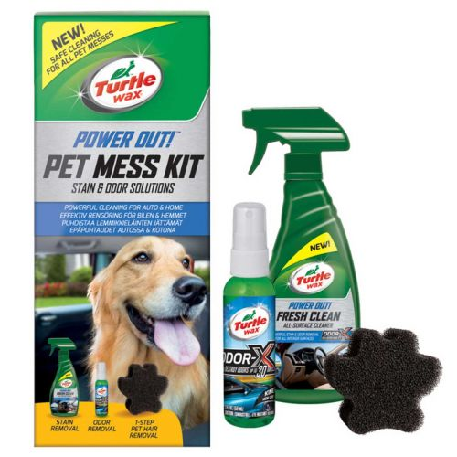 TURTLE WAX PET MESS KIT PUHDISTUSSETTI
