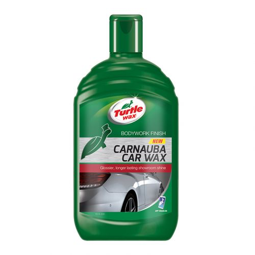 TURTLE WAX CARNAUBA CAR WAX  500 ML