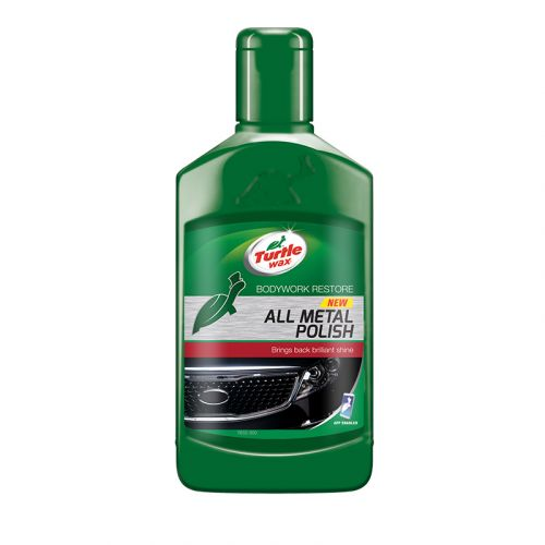TURTLE WAX ALL METAL POLISH METALLI PUHDISTUS- JA KIILLOTUSAINE