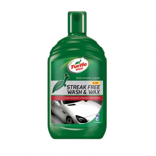 TURTLE WAX STREAK FREE WASH & WAX VAHASHAMPOO 500 ML