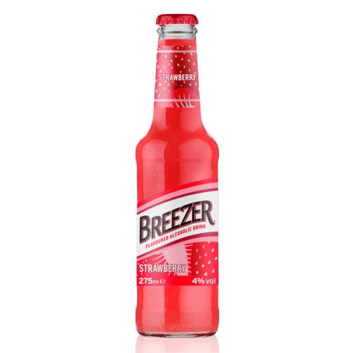 BACARDI BREEZER 4% STRAWBERRY KLP 275 ML