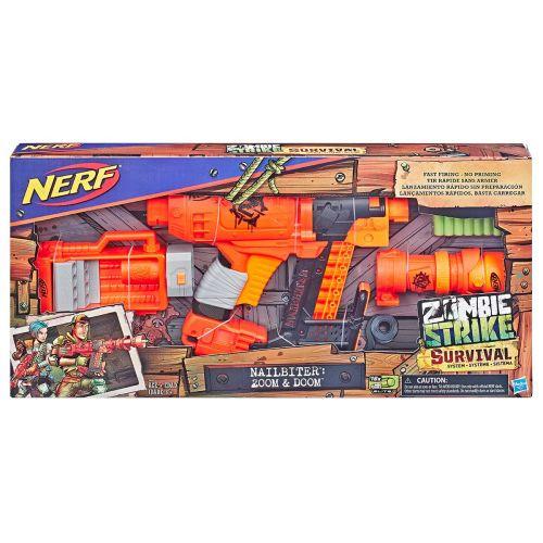 Nerf Zombie Nailbiter Zoom and Doom