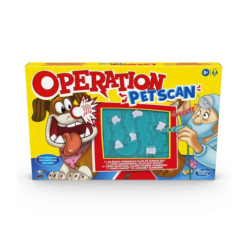 HASBRO GAMES OPERATION PET SCAN