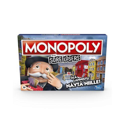HASBRO GAMES HASBRO GAMES MONOPOLY SORE LOOSERS EDITION - FI