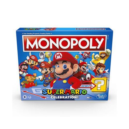 HASBRO GAMES MONOPOLY NINTENDO ENGLANNIN KIELI