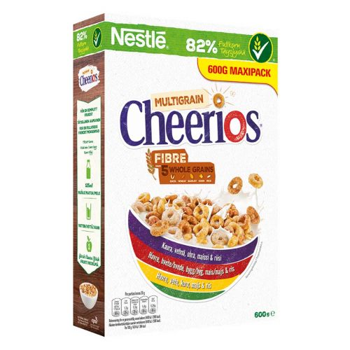NESTLE CHEERIOS MONIVILJA  600 G