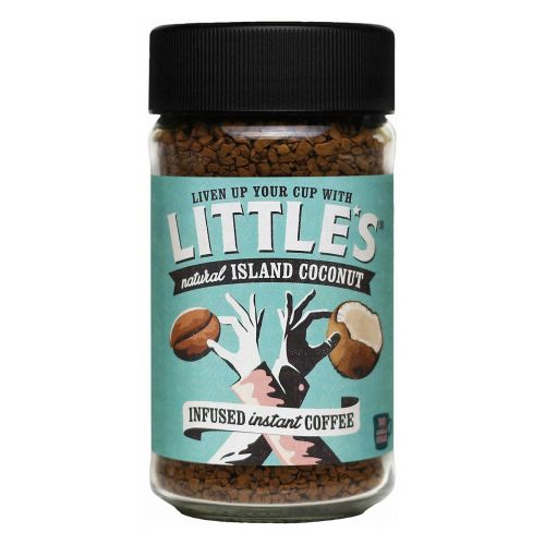 LITTLE'S ISLAND COCONUT INSTANT COFFEE 50 G