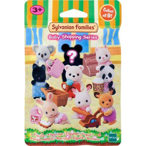 Sylvanian Families yllätyspussi Vauva ostoksilla