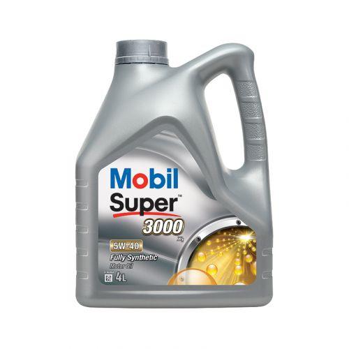 Mobil Super 3000 X1 5W-40 4L täyssynteettinen moottoriöljy
