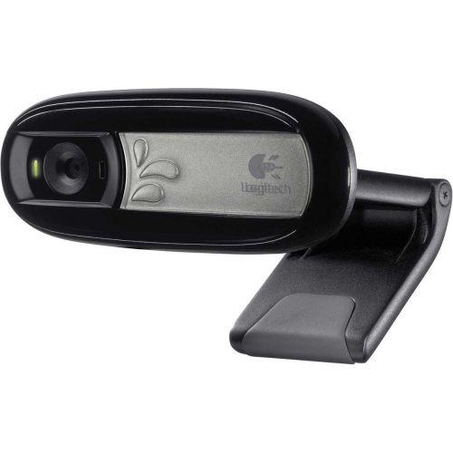 LOGITECH C170 WEBKAMERA USB, MUSTA
