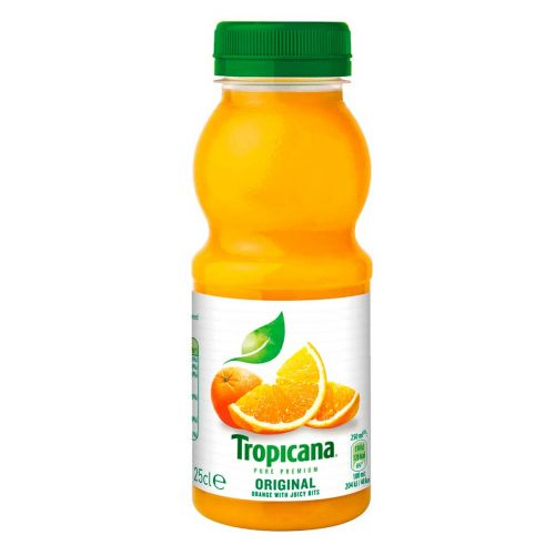 TROPICANA ORANGE HEDELMÄLIHALLA 0,25L 250 ML