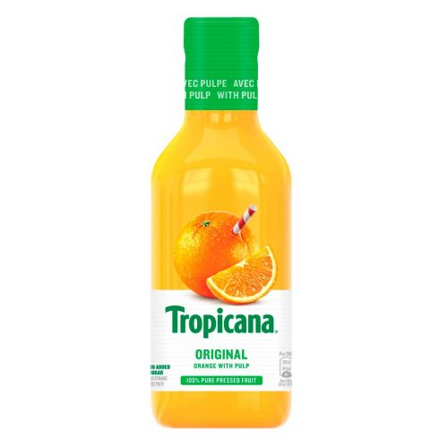 TROPICANA ORANGE WITH BITS KMP 900 ML