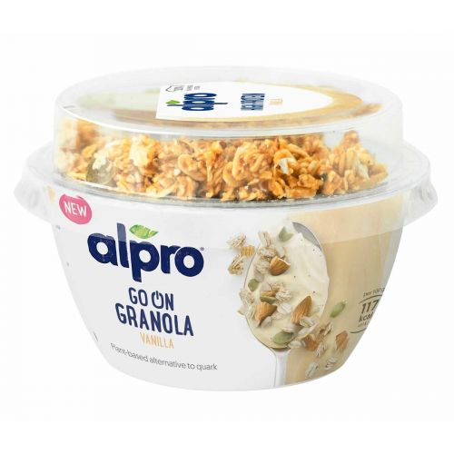 ALPRO GO ON GRANOLA VANILJA 140 G