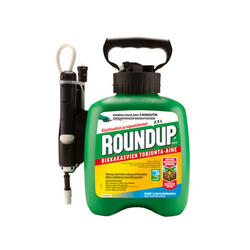 ROUNDUP QUICK SPRAY 250ML 2,5 L