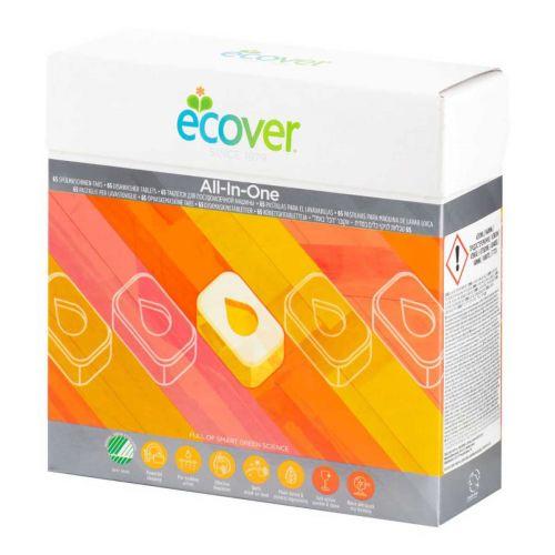 Ecover konetiskitabletti All-In-One 65kpl