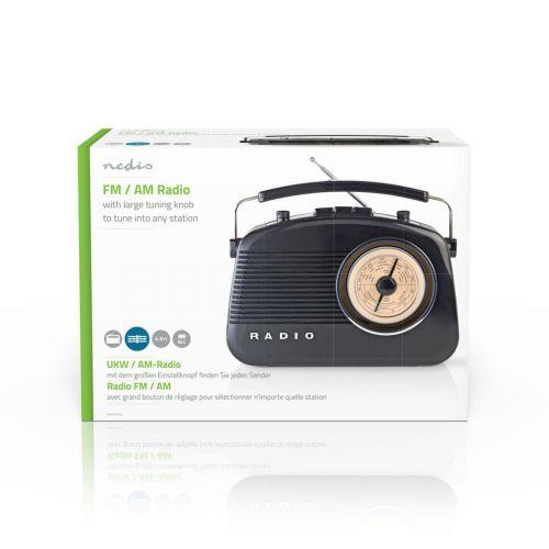 NEDIS FM-RADIO RETRO PIENI
