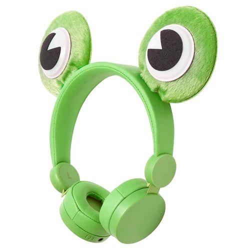 Nedis Animaticks johdolliset lasten kuulokkeet  Freddy Frog