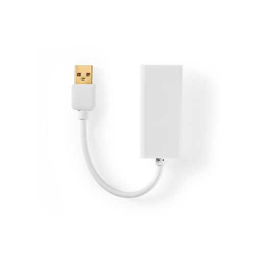 NEDIS USB 2.0 -SOVITIN, USB-A-UROS - RJ45-NAARAS, 10/100 MBIT,